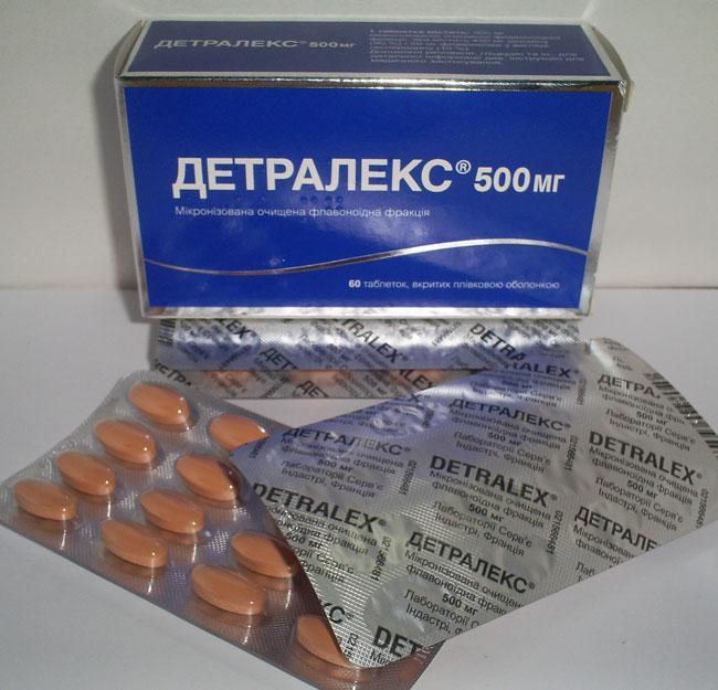 Диосмин, входящий в состав Детралекса, уменьшает проницаемость сосудистой стенки, препятствует ее растяжению, усиливает кровоснабжение сосудами, а Гесперидин способствует снижению артериального давления, расслабляет сосуды и желчные протоки