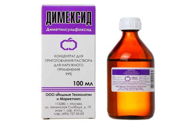 В большинстве случаев Димексид применяют в сочетании с другими лекарственными веществами (предварительно растворив в нем или нанеся его на кожу) для лучшего и более глубокого их проникновения в ткани