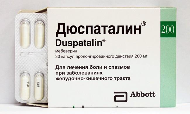 Дюспаталин – препарат из группы миотропных спазмолитиков, обладающий обезболивающим действием благодаря расслаблению гладкой мускулатуры кишечника и снятию спазмов
