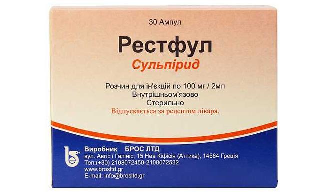 Препарат Рестфул — нейролептическое средство, страна-производитель — Греция
