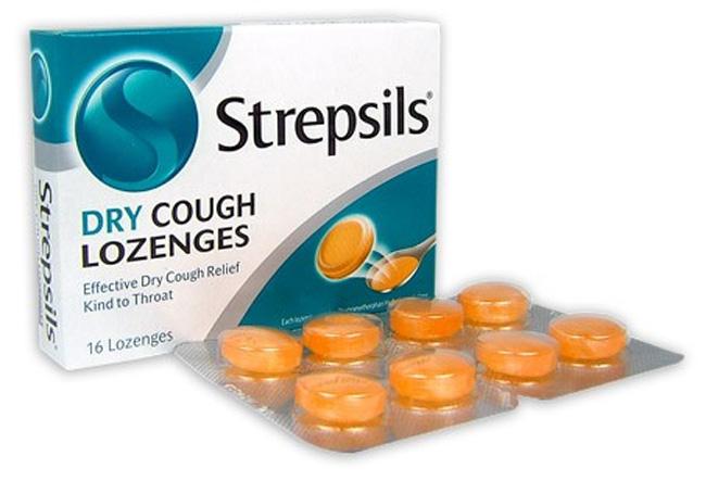 Стрепсилс - использует для лечения стоматита, пародонтоза, фарингита и ларингита