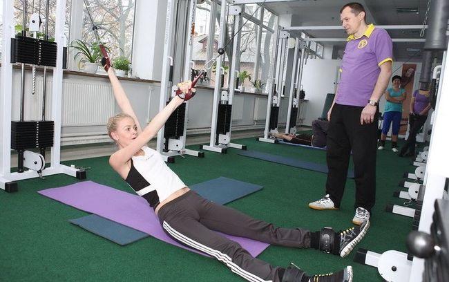 Упражнение по методике Бубновского