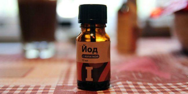Применение препаратов йода для коррекции йододефицита, например, при эндемическом зобе. Питание больных должны быть обогащено продуктами, содержащими большое количество йода
