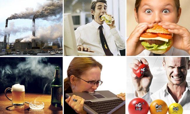 Инфаркт миокарда может произойти по самым разным причинам, от сильного стресса, до ожирения или плохой экологии