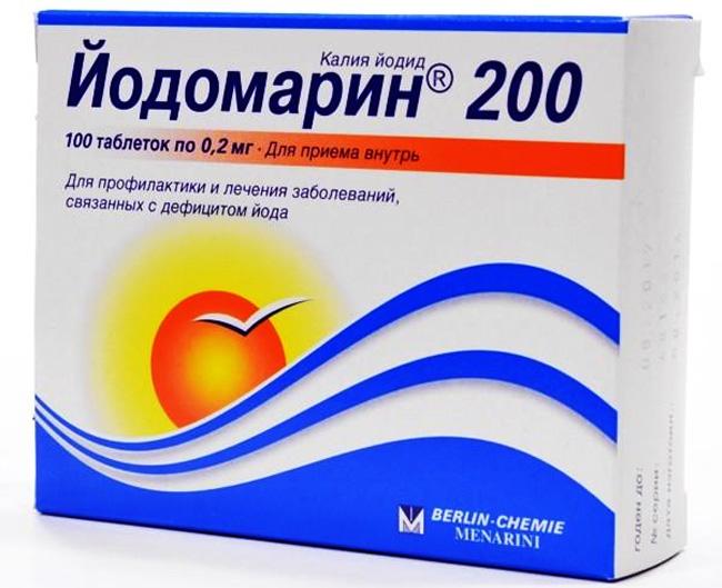 Йодомарин применяется для профилактики и лечения состояний, связанных с дефицитом йода, профилактики эндемического зоба у людей, проживающих в районах с дефицитом йода и зоба после резекции, лечения йододефицита и диффузного эутиреоидного зоба