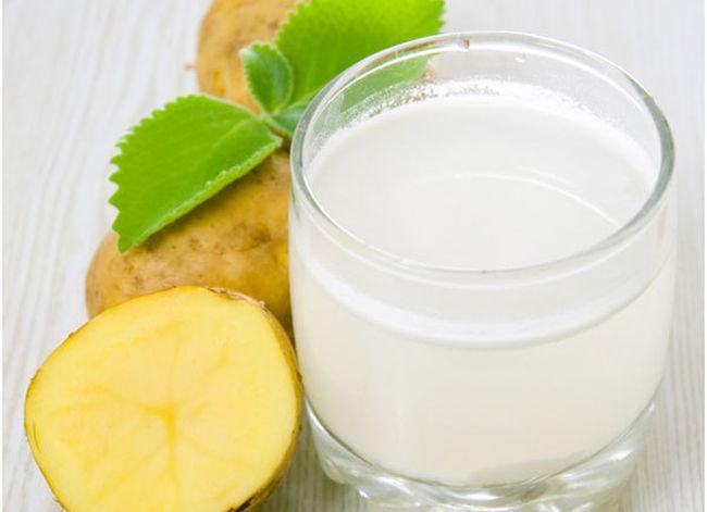 Картофельный сок – эффективное средство от изжоги