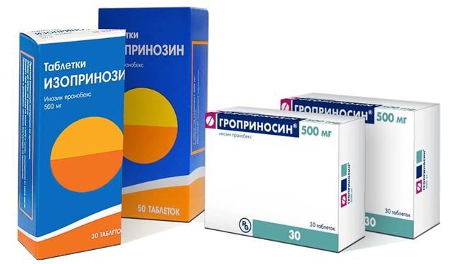 Изопринозин – это противовирусное лекарственное средство, выпускается в упаковках по 20, 30 и 50 таблеток