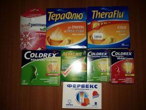 При приеме Колдрекса, или других препаратов на основе парацетамола, следует обратить внимание на возможное содействие препарата с другими лекарствами