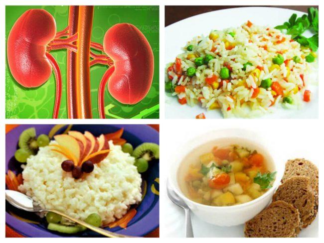 Питание при почечных коликах рекомендуется составлять таким простым образом, чтобы в вашем рационе присутствовали крупы разных видов, салаты из разнообразных овощей и фруктов, исключительно вегетарианские супы
