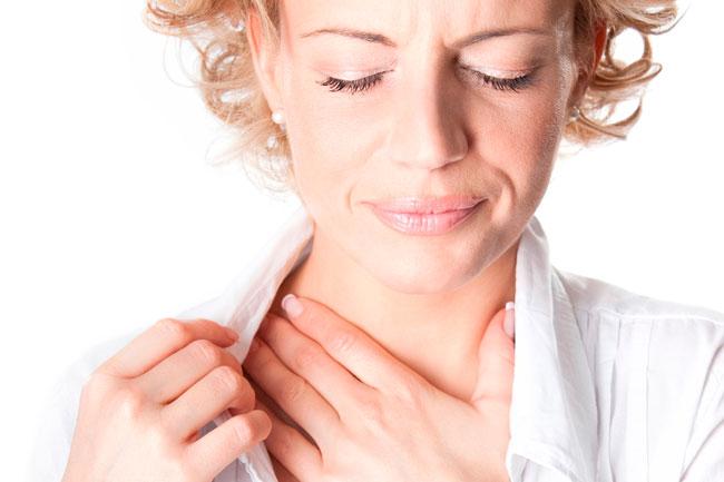 Ощущение кома в горле – это всегда крайне неприятное ощущение, которое вызывает проблемы с дыханием и глотанием