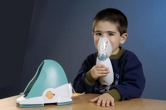 С помощью небулайзер можно провести ингаляцию физ. раствором