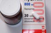 Луцетам – инструкция по применению для мозга таблеток и уколов, отзывы, аналоги