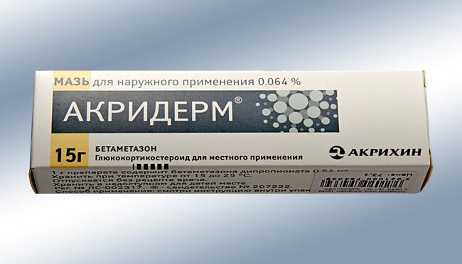 Мазь Акридерм — современный лекарственный препарат, предназначенный для наружного применения. Это средство было разработано для борьбы с различными дерматологическими патологиями, в том числе и хроническими