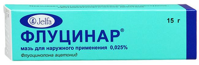 Флуцинар оказывает выраженное противовоспалительное действие за счет угнетения лейкотриенов и простагландинов