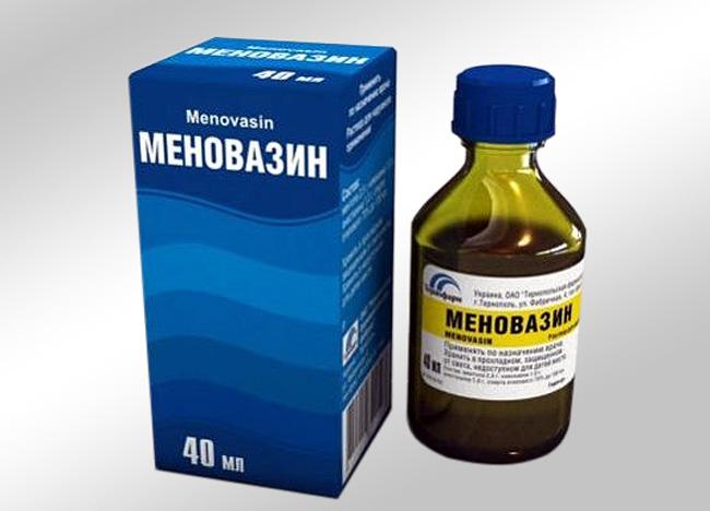 Меновазин - комбинированный препарат для наружного применения, оказывает местноанестезирующее действие