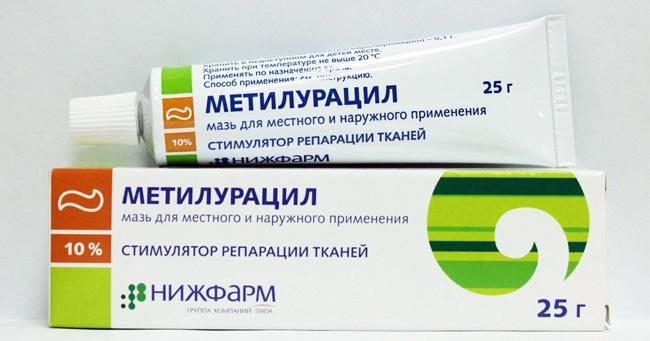 Метилурацил ускоряет процессы клеточной регенерации, заживление ран, стимулирует клеточные и гуморальные звенья иммунитета, оказывает противовоспалительное действие