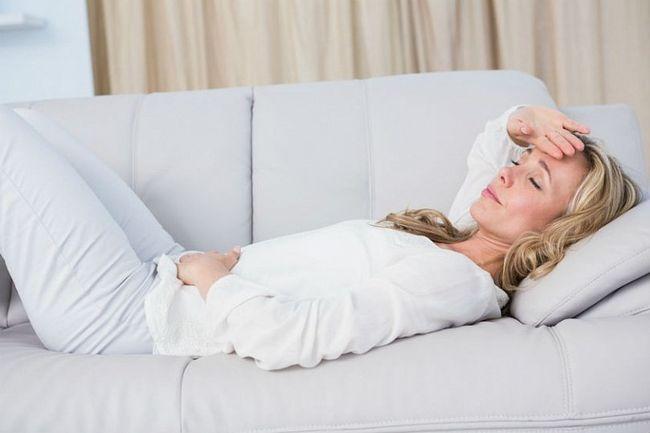 Один из видов мигрени зависит от менструального цикла - менструальная мигрень