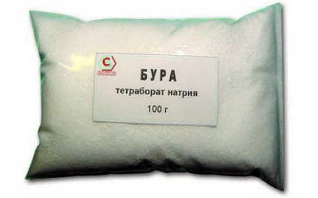 Натрия тетраборат выпускается и в форме порошка, но чаще применяется жидкая форма