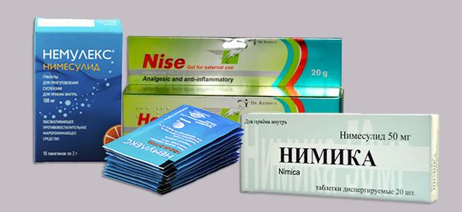 Существуют другие аналоги препарата, которые могут заменить Нимесил, такие как Нимка, Немулекс.