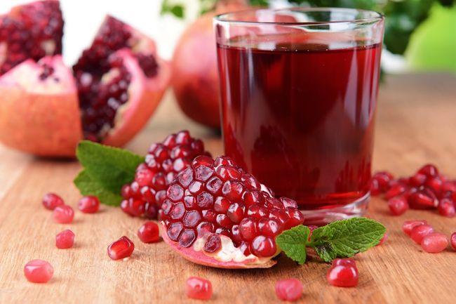 Гранат - действенный фрукт для повышения гемоглобина