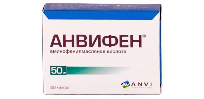 Анвифен – ноотропный препарат, обладающий также антиагрегантной, антиоксидантной, противосудорожной и транквилизирующей активностью