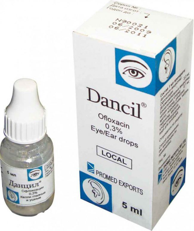 Препарат Данцил представляет собой глазные капли, обладающие противомикробным действием. Применяют его при инфекционных заболеваниях оптического аппарата, а также для профилактики заражения при операциях или травмах