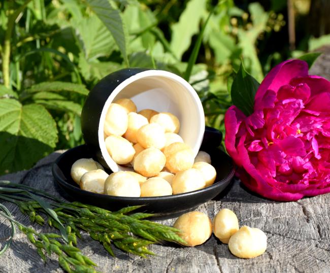 В орехах есть эфирные масла, жиры, углеводы, белки, протеины, натуральные сахара, клетчатка, витамины, минеральные вещества