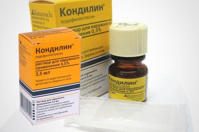 Кондилин - популярное средство при остроконечных кондиломах