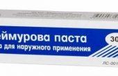 Паста Теймурова – инструкция, показания, состав, способ применения мази от пота, противопоказания