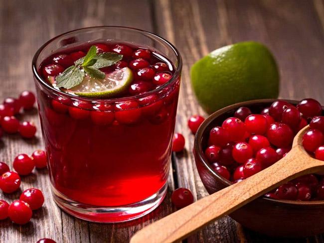 Клюква не только полезная, но и вкусная ягода