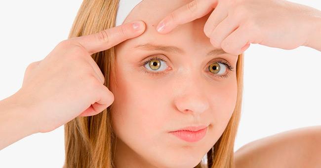 Здоровая еда и правильное питание положительно отражается на состоянии кожи подростка