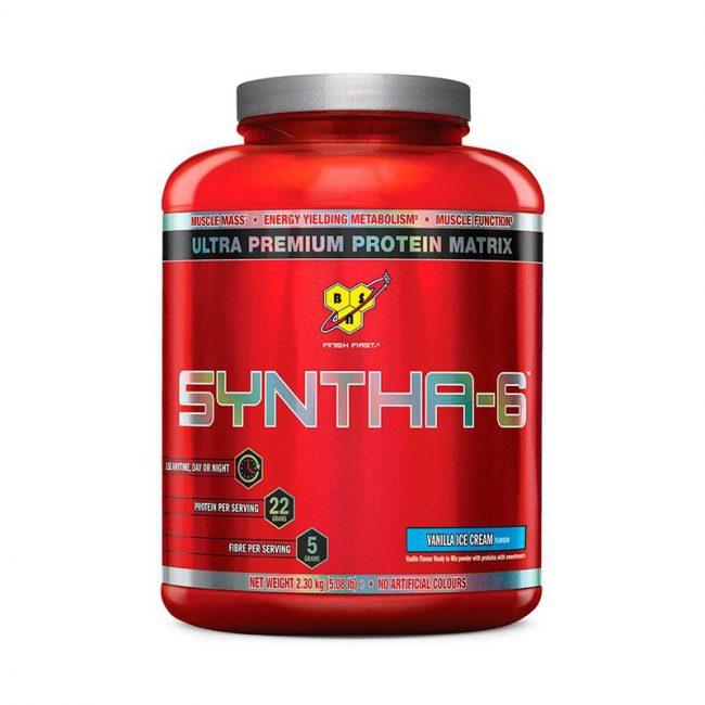 Syntha 6 от BSN – это многофункциональный протеиновый комплекс, который состоит из 6-ти различных источников белка