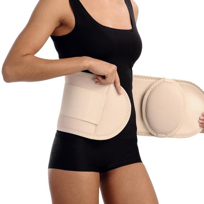 Ношение бандажа - один из способов консервативного лечения пупочной грыжи