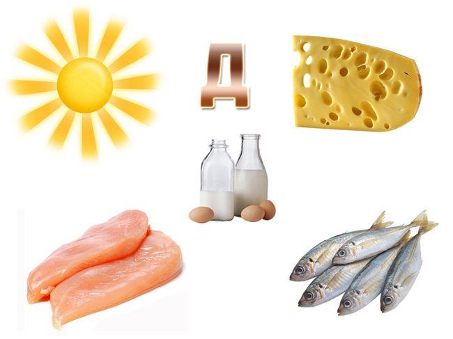 Дефицит витамина Д может привести к развитию рахита у грудничка