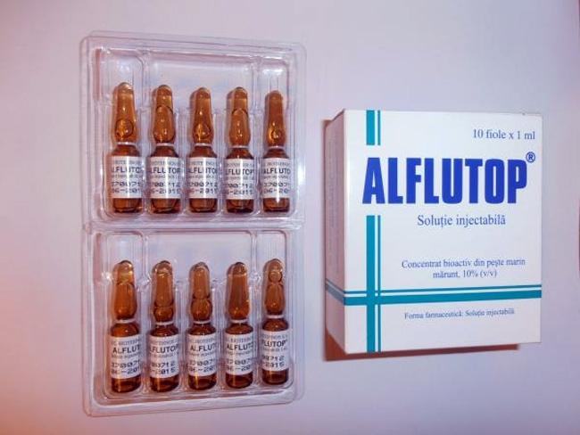 Алфлутоп – препарат содержит хондроитин, который получают из костей морских рыб, а активное вещество Хондрогарда, получают путем химического синтеза