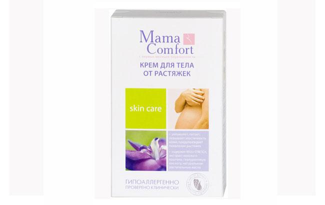 Mama comfort – это средство от растяжек, которое рассчитано на чувствительную и склонную к раздражению кожу