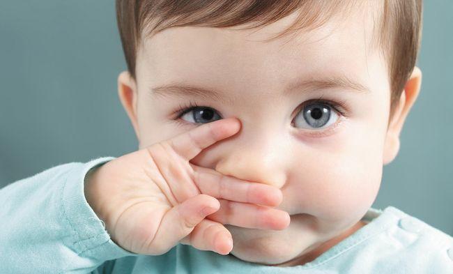 Маленькие дети также болеют ринитом