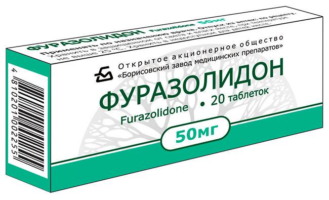 Фуразолидон хорошо борется с возбудителями кишечных инфекций (лямблиоза, дизентерии), помогает быстро устранить диарею и нормализовать стул