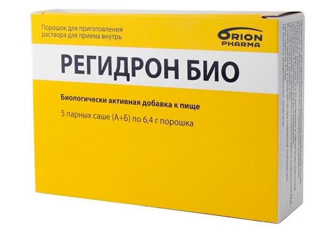 Регидрон используется для восполнения водно-электролитного равновесия в организме при диарее и рвоте, отравлениях и различных недугах желудочно-кишечного тракта, сопровождающихся жидким стулом