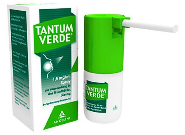 Тантум Верде быстро справится с симптомами инфекции ротоглотки