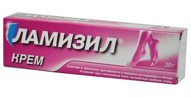 Действующим компонентом Ламизила является тербинафин