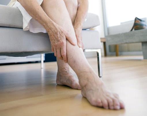 Судороги ног представляют собой резкое сокращение мышц
