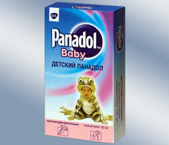 Панадол - оказывает противовоспалительное и болеутоляющее действие, назначают препарат детям старше шести месяцев