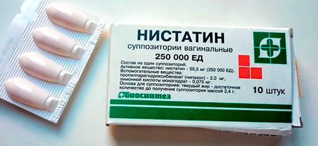 Суппозитории Нистатин применяют для профилактики и лечения заболеваний, вызванных дрожжеподобными грибами рода Candida - кандидоза слизистых оболочек вульво-вагинальной области