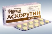 Аскорутин таблетки: инструкция, показания, способ применения при авитаминозе и поражении капилляров
