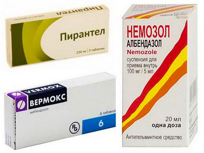 Данные препараты отличаются низкой токсичностью и хорошим противогельминтным действием, что позволяет использовать их для лечения глистов и у детей