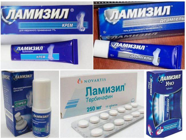 Ламизил является аналогом препарата Тербинафин (крем, таблетки, раствор для наружного применения, гель)