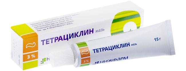 Тетрациклиновая мазь является антибиотиком местного действия, эффективный в отношении многих бактерий, возбудителей трахомы и остеомиелита, кишечных и гнойных инфекций