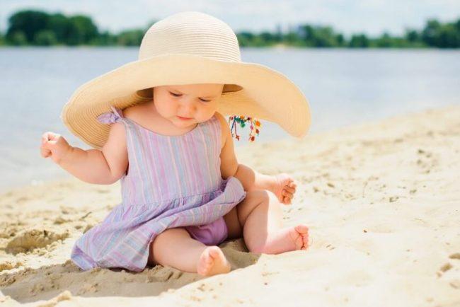 Тепловой (солнечный) удар представляет наибольшую опасность для маленьких детей, поскольку у них недостаточно совершенна система терморегуляции организма