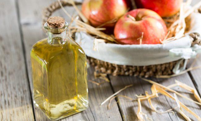 Большое количество калия, содержащееся в яблочном уксусе, благотворно влияет на работу сердца и сосудов